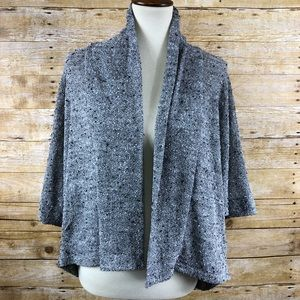 Abercrombie & Fitch Gray Open Front Cardigan OS